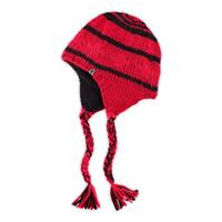 Riot Red / TNF Red The North Face Boulder Peruvian Beanie