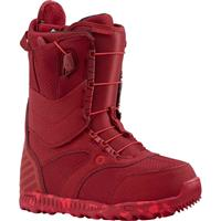 Red Burton Ritual Snowboard Boots Womens