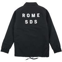 Black Rome Grounds Crew Jacket Mens