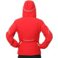 Rouge / Rouge / White Spyder Charge Jacket Womens