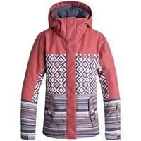 Roxy Jetty Block Jacket - Women's - Dusty Cedar / Edit Song Geo (657)