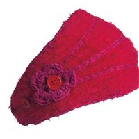 Turtle Fur Flora Headband - Women's - Ruby