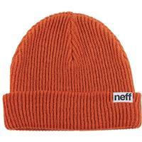 Rust Neff Fold Beanie