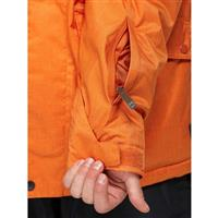 Rust Quiksilver Raft 10K Jacket Mens