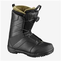 Black Salomon Faction Boa Snowboard Boot Mens