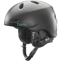Satin Black Bern Berkeley Helmet Womens