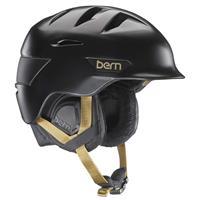 Satin Black Bern Hepburn Helmet Womens