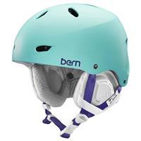 Satin Seafoam Bern Brighton EPS Helmet Womens