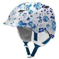 Satin Winter Floral Bern Camina Helmet Girls