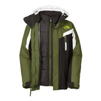 Scallion Green The North Face Boundary Triclimate Jacket Boys