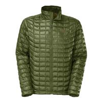 Scallion Green The North Face Thermoball Full Zip Jacket Mens