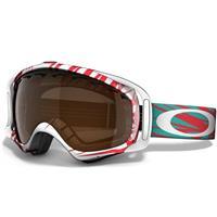 Scratch White Red Frame / Black Iridium Lens (57 790) Oakley Crowbar Goggle