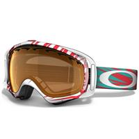Scratch White Red Frame / Persimmon Lens (57 896) Oakley Crowbar Goggle