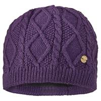 Eggplant Screamer Jitterbug Beanie Womens