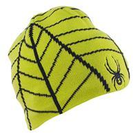 Sharp Lime / Black Spyder Web Hat Boys