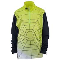 Sharp Lime / White / Black Spyder Gradient Web T Neck Boys