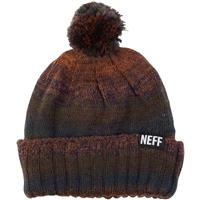 Brown Neff Shrug Beanie