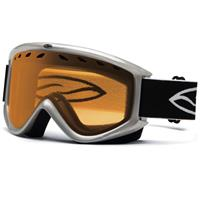Silver Frame with Gold Lite Lens Smith Electra Goggle Womens