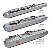 Silver SporTube Lindsey Vonn Special Edition Plastic Carry Case