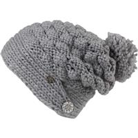 Silver Turtle Fur Cinta Grande Hat Womens