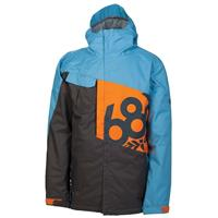 Slate Colorblock 686 Mannual Iconic Insulated Jacket Mens