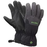 Slate Grey / Black Marmot On Piste Gloves Mens