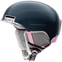 Slate Pink Nouveau Smith Allure Helmet Womens