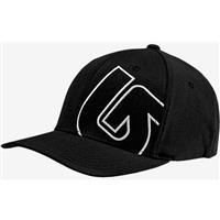 True Black (16) Burton Slidestyle Flex Fit Hat Boys