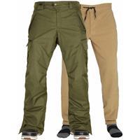 Olive Melange 686 Smarty Cargo Pant Mens