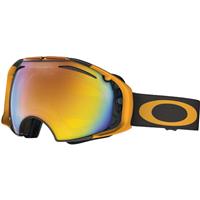 Smoke Ring Lime Frame / Fire Iridium Lens + Persimmon Lens (59 490) Oakley Airbrake Snow Goggle