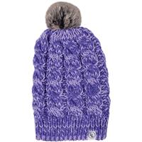 Purple Heather Candygrind Snow Bunny Beanie Womens