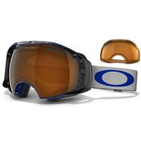 Spectrum Blue Frame / Black Iridium Lens + Persimmon Lens (57 732) Oakley Airbrake Snow Goggle