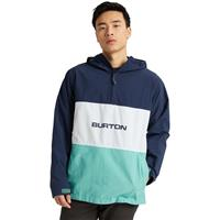 Burton Antiup Anorak Jacket - Men's - Dress Blue / Buoy Blue