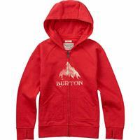 Coral Burton Stamped MTN Full Zip Hoodie Girls