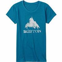 Hydro Heather Burton Stamped Mountain Short Sleeve T Shirt Womens