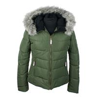 Stone Green Obermeyer Bombshell Jacket Womens