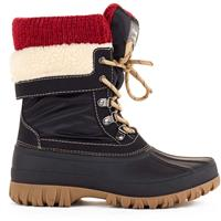 Black Cougar Creek Winter Boots Womens