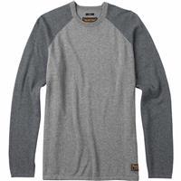 Dark Ash Heather/Monument Burton Stowe Raglan Sweater Mens
