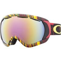Oakley Canopy Goggle - Stumped Rasta Frame / VR50 Pink Lens (59-596)