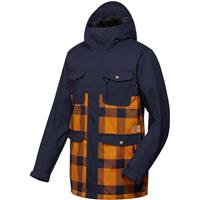 Sudan Brown Quiksilver Reply Jacket Mens