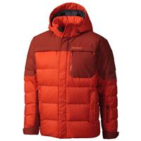 Sunset Orange / Dark Rust Marmot Shadow Jacket Mens