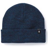 Deep Navy Heather Bright Cobalt Heather Smatwool Cozy Cabin Hat