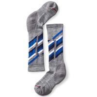 Gray / Blue Smartwool Ski Racer Sock Kids