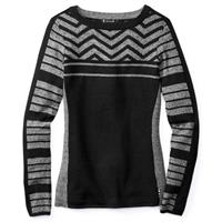 Black Smartwool Dacono Ski Crew Sweater Womens