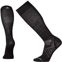 Black Smartwool PhD Ski Ultra Light Sock Mens