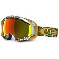 Tagline Olive Frame / Fire Iridium Lens (59 606) Oakley Splice Goggle
