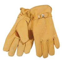 Tan Volkl Deerskin Work Glove Mens