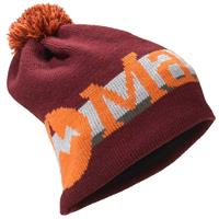 Tawny Port Marmot Retro Pom Hat
