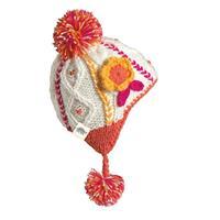 Teaberry Turtle Fur Macaroon Hat Girls