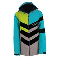 Teal Grenade Chevron Jacket Mens